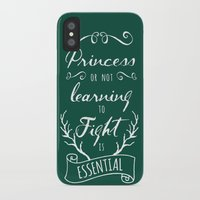 brave iPhone & iPod Cases featuring Brave by Nikita Gill