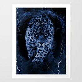 JAGUAR LORD Art Print