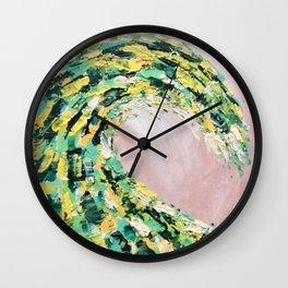 The Green Monster Wall Clock