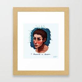 I Dreamed a Dream Framed Art Print