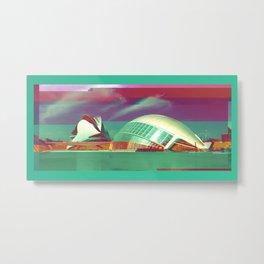 Valencia, Spain | Project L0̷SS   Metal Print