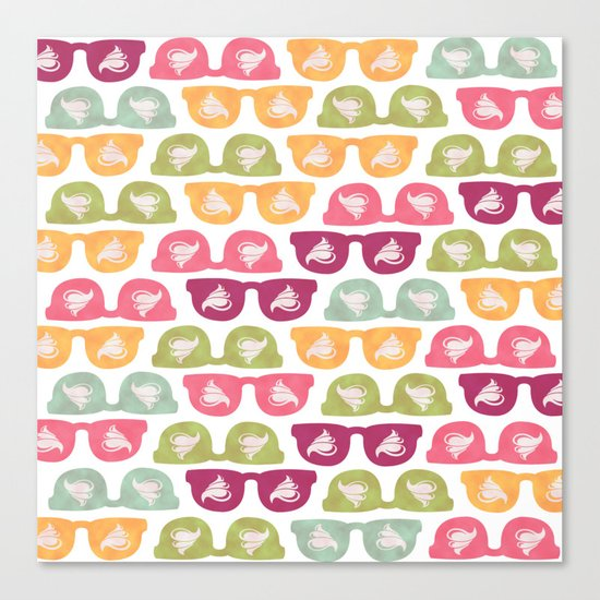 Yummy Hipster Canvas Print