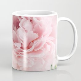 Blush Peonies Coffee Mug