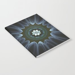 Blossom Within in White Notebook
