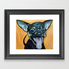 Chihuahua Art Framed Art Print