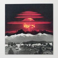 Apocalypse Then And Now Canvas Print