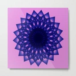 Modern & Decorative Star Pattern Metal Print