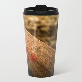 In particular wood Travel Mug