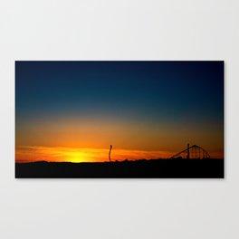 Dorney Park at Sunset Canvas Print