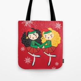 Lil Dancer '2 Hand Elves' Tote Bag
