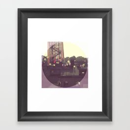 Glastonbury Festival 2010 Framed Art Print