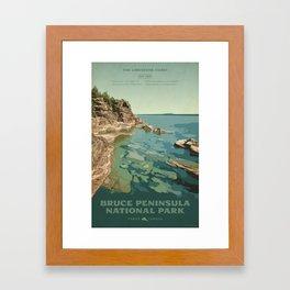 Bruce Peninsula National Park Framed Art Print