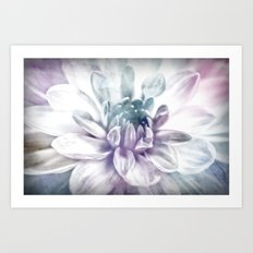 water color flower Art Print