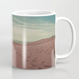 Pink dunes of Maspalomas Coffee Mug