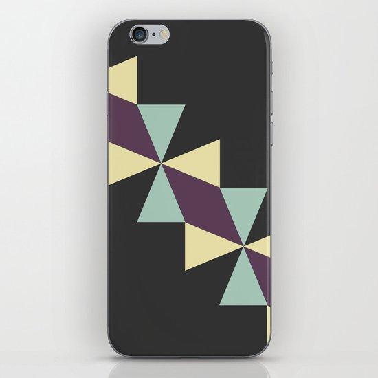 Oragami Traingles iPhone & iPod Skin