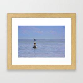 The Buoy Framed Art Print