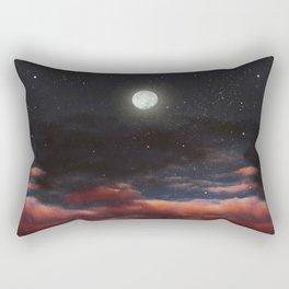 Dawn's moon Rectangular Pillow