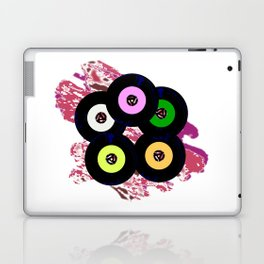 Singles Collection Jazz Background Laptop & iPad Skin