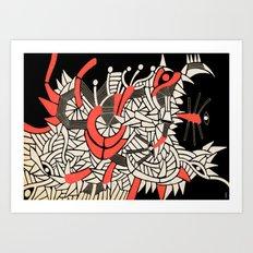 - partyrats - Art Print