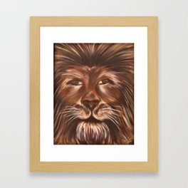 Man Or Beast Framed Art Print