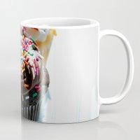 cupcakes Mugs featuring Cupcakes by Gabby DaRienzo