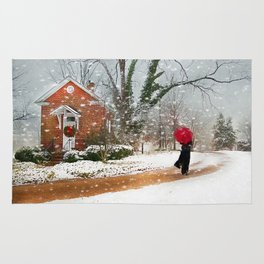 The Winter Cottage Rug