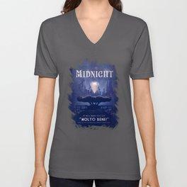 Midnight Unisex V-Neck
