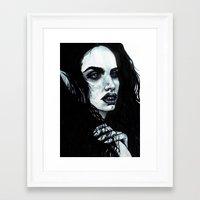 marceline Framed Art Prints featuring Marceline by .Esz