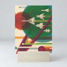 The Grand Tour : Vintage Space Poster Mini Art Print