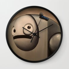 Larry the Robot Wall Clock