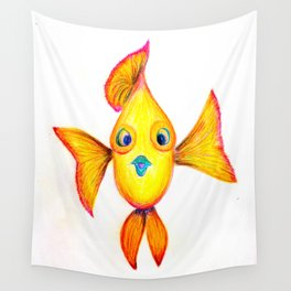 Rupert the Sunfish Wall Tapestry