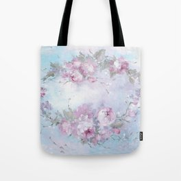 Crown Rose Tote Bag