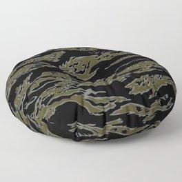 Tiger Camo Floor Pillow