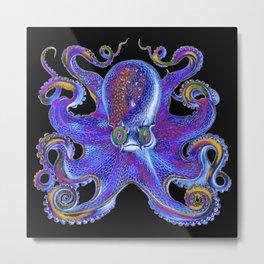 Octopus vulgaris psychedelicus Metal Print
