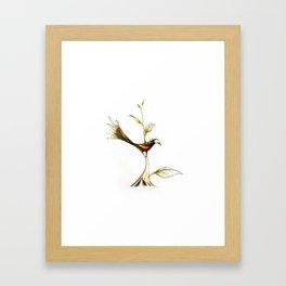 Treebird Framed Art Print