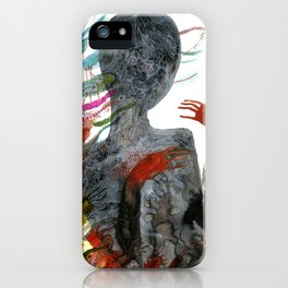 with my voice i'm calling you iPhone Case