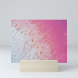 Pink Lake - Kalbarri Western Australia Mini Art Print