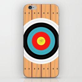 Shooting Target iPhone Skin