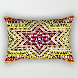 African Design - Star Multi Colors Rectangular Pillow