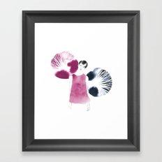 Gilda Framed Art Print