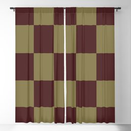 Classic Checked Pattern Longana Blackout Curtain