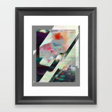 Water Lilies Interference Framed Art Print