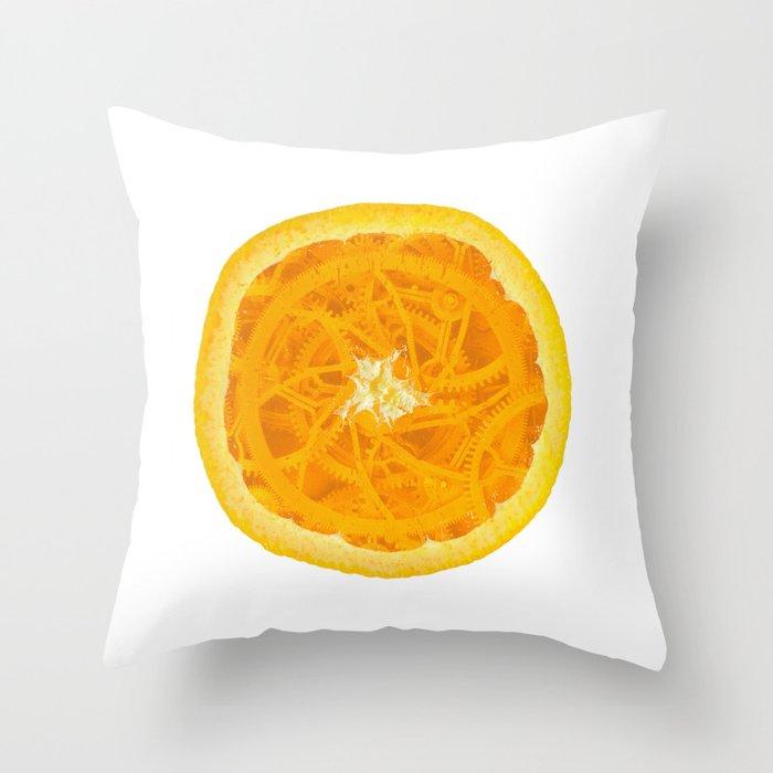 A Clockwork Orange Throw Pillow