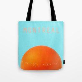 MONTREAL PASTEL Orange Julep Tote Bag