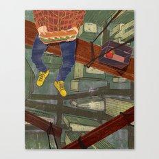 LUNCHBREAK Canvas Print