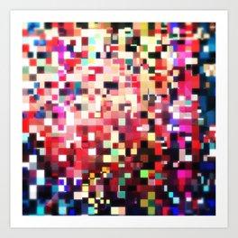 Pixel Play (i) Art Print