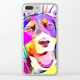 English Springer Spaniel Clear iPhone Case