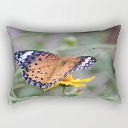 Indian Fritillary in Hangzhou Rectangular Pillow