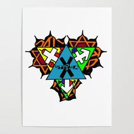 Gender Heart Chakra Poster