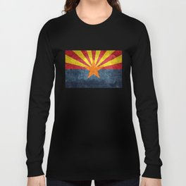 State flag of Arizona, the 48th state Long Sleeve T-shirt